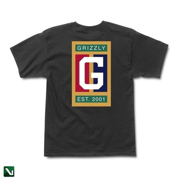 koszulka grizzly off the court s/s tee black