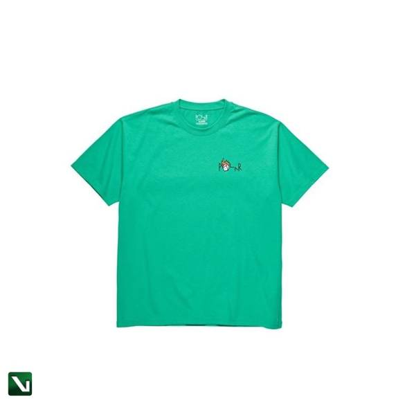 koszulka polar castle fill logo tee green