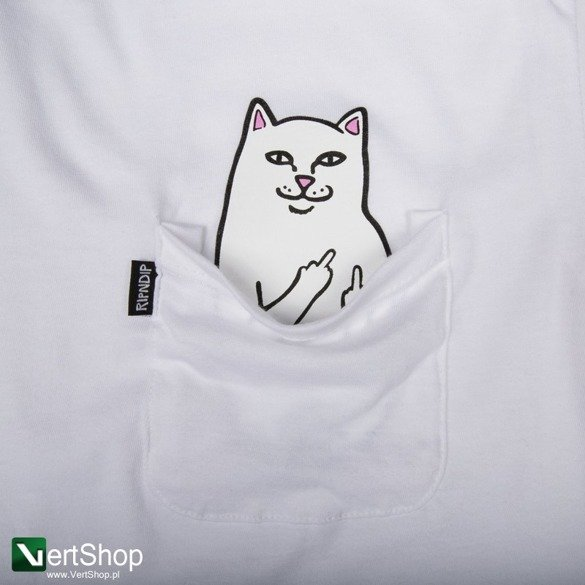 koszulka ripndip lord normal tee white
