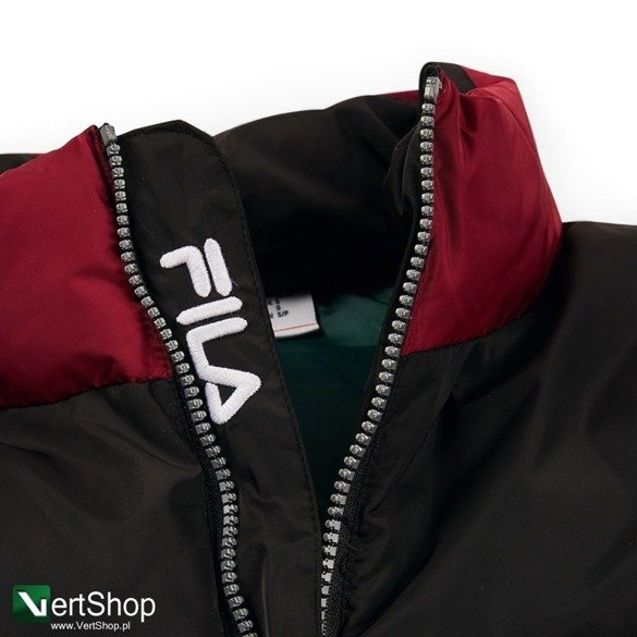 kurtka fila neo colour blocked puffa jacket