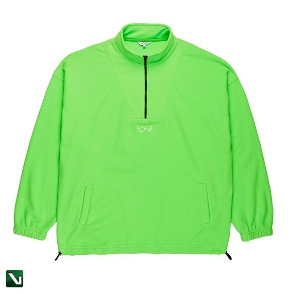 kurtka polar lightweight fleece pullover 2.0 gecko green