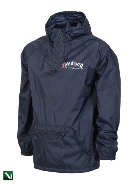kurtka thrasher knock off anorak hood navy