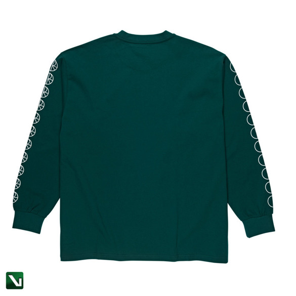 polar racing longsleeve dark green