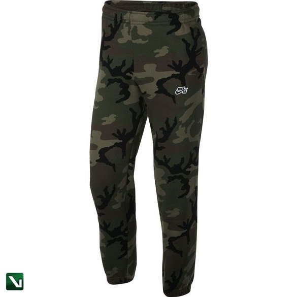 spodnie nike sb icon fleece pants  Medium Olive/black