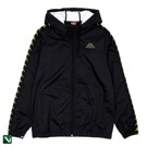 Kurtka Kappa Authentic Banda Dawson Jacket Black Gold