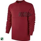 bluza  nike sb lightweight everett dri-fit crew gym red/team red