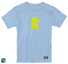 koszulka grizzly og bear s/s tee blue/yellow