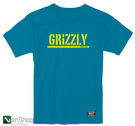 koszulka grizzly stamp s/s tee black